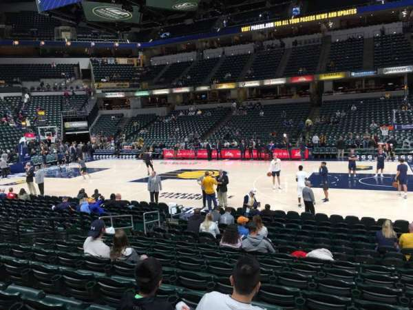 Bankers Life Fieldhouse, section: 15, row: 16, seat: 9