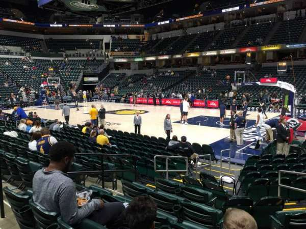 Bankers Life Fieldhouse, section: 13, row: 13, seat: 17