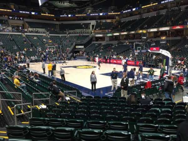 Bankers Life Fieldhouse, section: 13, row: 13, seat: 6