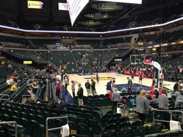 Bankers Life Fieldhouse, section: 12, row: 12, seat: 7