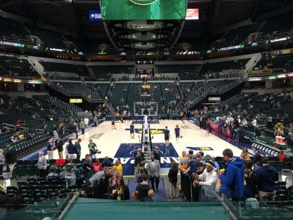 Bankers Life Fieldhouse, section: 11, row: 16, seat: 11