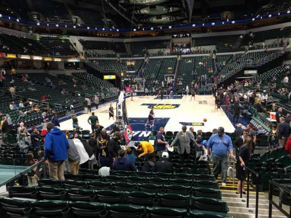 Bankers Life Fieldhouse, section: 10, row: 16, seat: 1