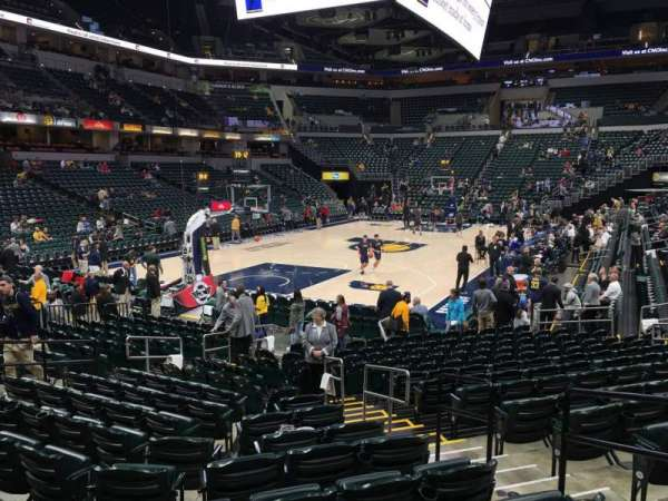 Bankers Life Fieldhouse, section: 9, row: 17, seat: 10