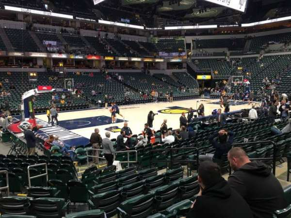 Bankers Life Fieldhouse, section: 7, row: 15, seat: 8