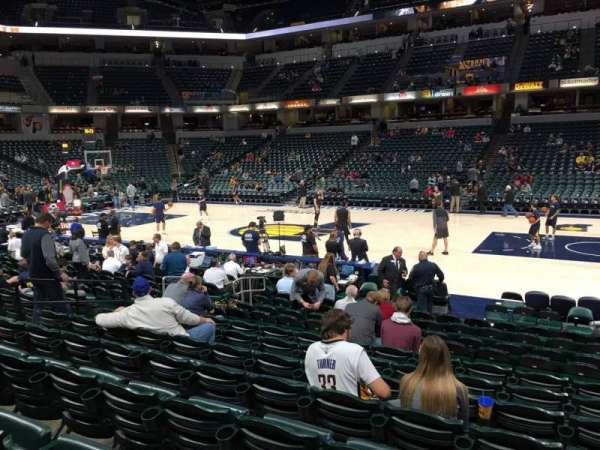 Bankers Life Fieldhouse, section: 4, row: 15, seat: 9