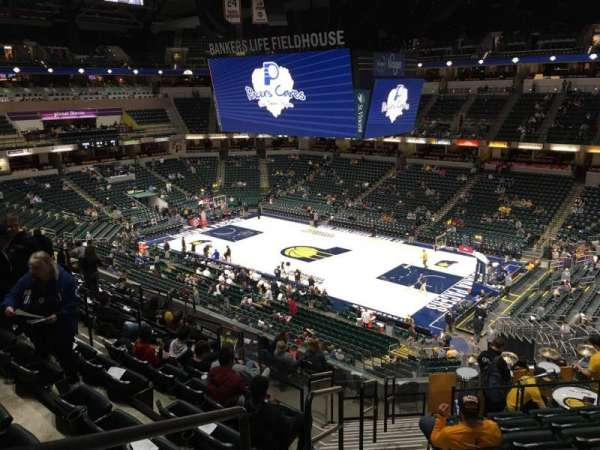 Bankers Life Fieldhouse, section: 101, row: 12, seat: 14