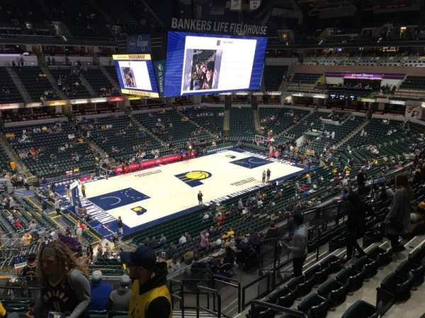 Bankers Life Fieldhouse, section: 120, row: 12, seat: 1
