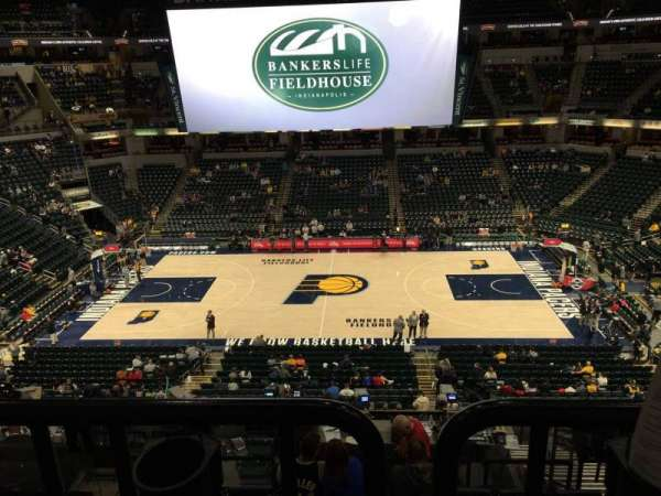 Bankers Life Fieldhouse, section: 117, row: Aca, seat: 3