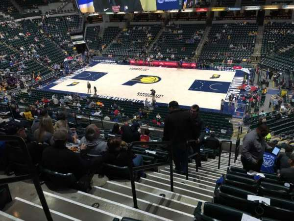 Bankers Life Fieldhouse, section: 115, row: 11, seat: 15