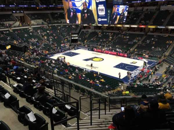 Bankers Life Fieldhouse, section: 114, row: 11, seat: 15