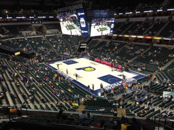Bankers Life Fieldhouse, section: 113, row: Aca, seat: 3