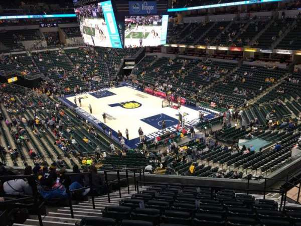 Bankers Life Fieldhouse, section: 112, row: 11, seat: 11