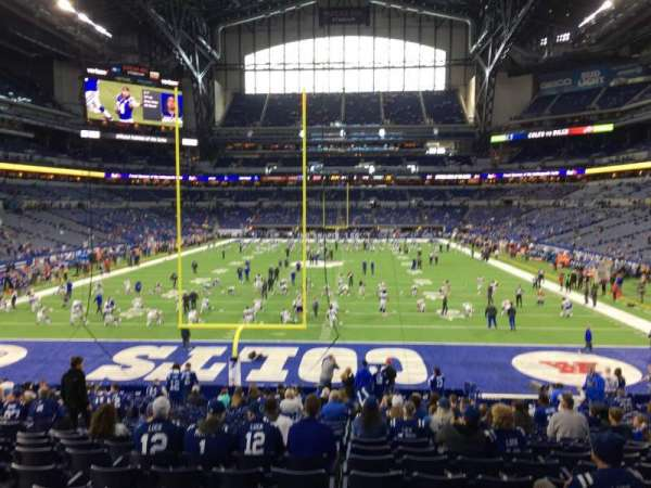 Lucas Oil Stadium, section: 153, row: 25, seat: 15