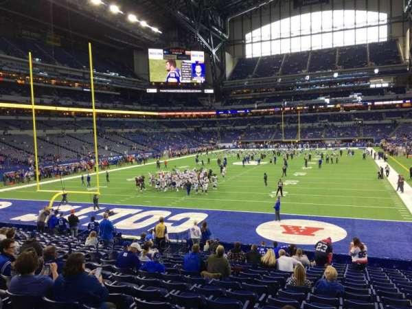 Lucas Oil Stadium, section: 152, row: 20, seat: 12