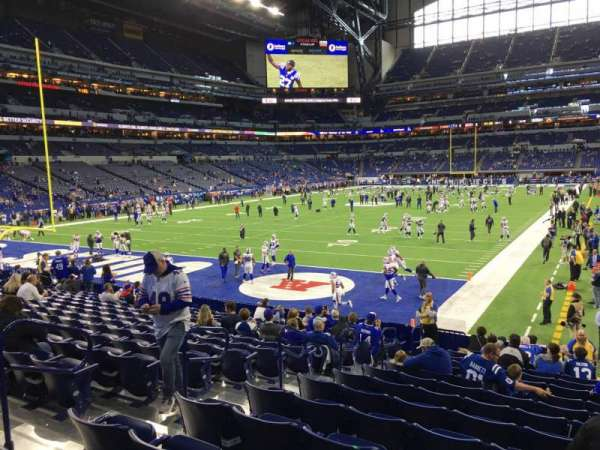 Lucas Oil Stadium, section: 151, row: 17, seat: 7