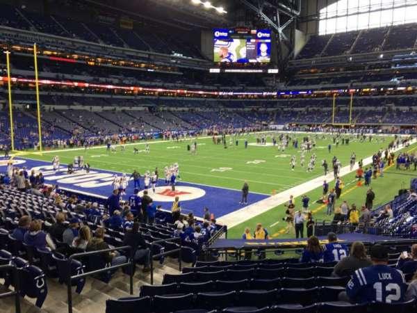 Lucas Oil Stadium, section: 148, row: 20, seat: 24