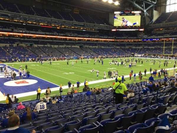 Lucas Oil Stadium, section: 145, row: 19, seat: 10