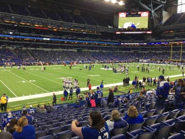 Lucas Oil Stadium, section: 144, row: 16, seat: 11