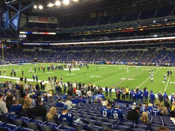 Lucas Oil Stadium, section: 137, row: 18, seat: 2