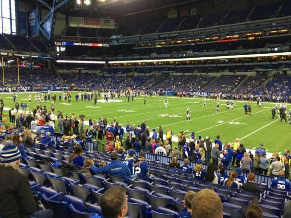 Lucas Oil Stadium, section: 136, row: 13, seat: 18