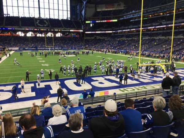 Lucas Oil Stadium, section: 128, row: 16, seat: 13