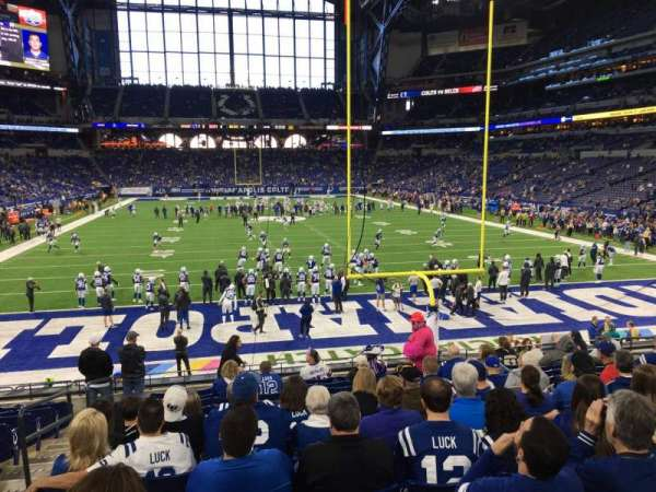 Lucas Oil Stadium, section: 127, row: 21, seat: 14