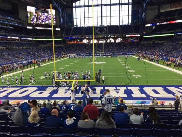 Lucas Oil Stadium, section: 126, row: 22, seat: 9