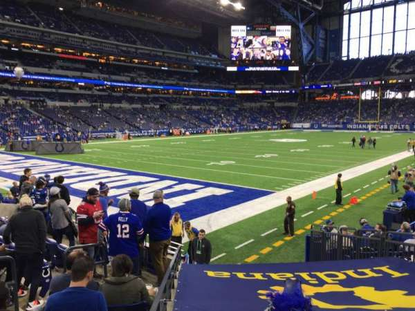 Lucas Oil Stadium, section: 121, row: 11, seat: 14