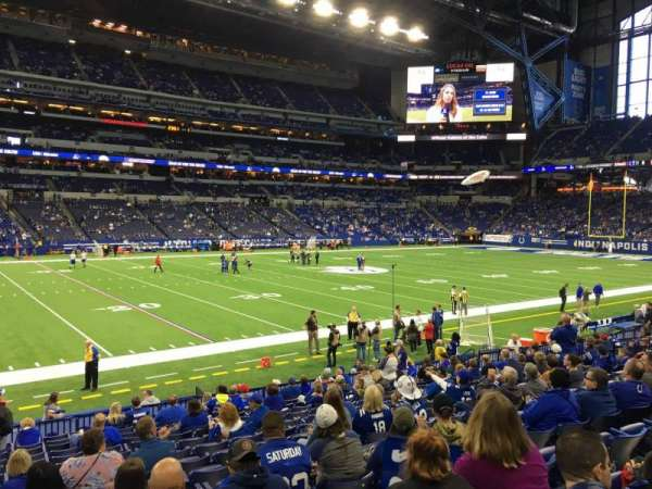 Lucas Oil Stadium, section: 116, row: 16, seat: 23