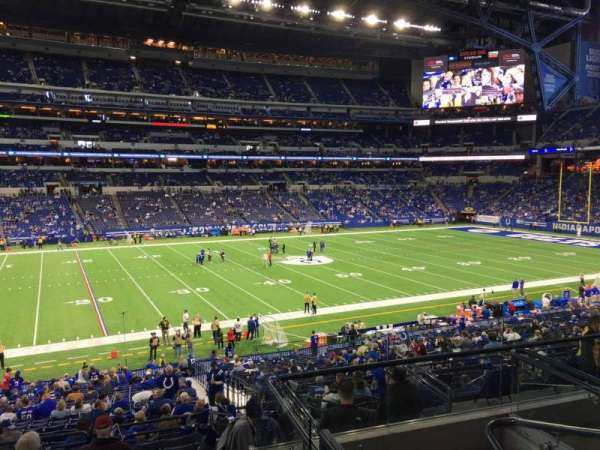 Lucas Oil Stadium, section: 216, row: 5, seat: 5