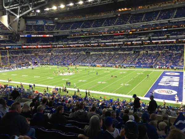 Lucas Oil Stadium, section: 209, row: 13, seat: 2