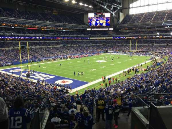 Lucas Oil Stadium, section: 248, row: 7, seat: 8