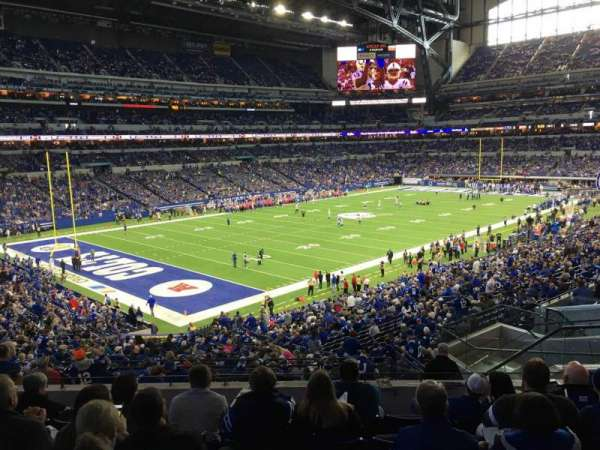 Lucas Oil Stadium, section: 247, row: 7, seat: 8