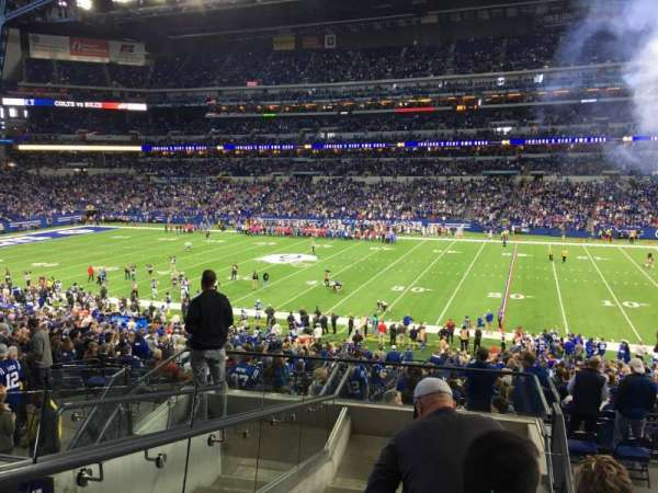 Lucas Oil Stadium, section: 237, row: 8, seat: 24