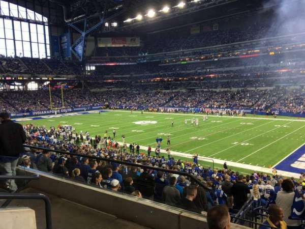 Lucas Oil Stadium, section: 235, row: 4, seat: 20