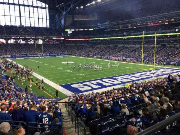 Lucas Oil Stadium, section: 230, row: 2, seat: 1