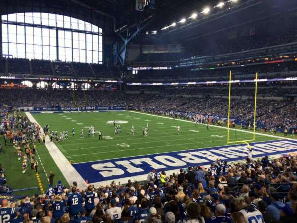 Lucas Oil Stadium, section: 229, row: 2, seat: 21