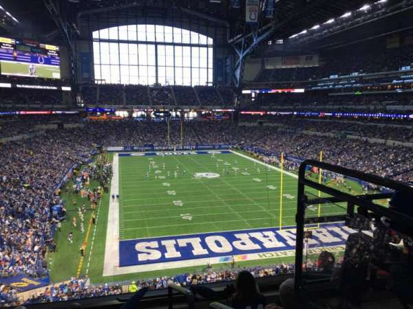 Lucas Oil Stadium, section: 329, row: 5, seat: 1