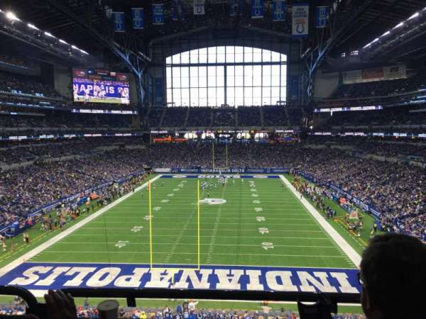 Lucas Oil Stadium, section: 326, row: 5, seat: 2