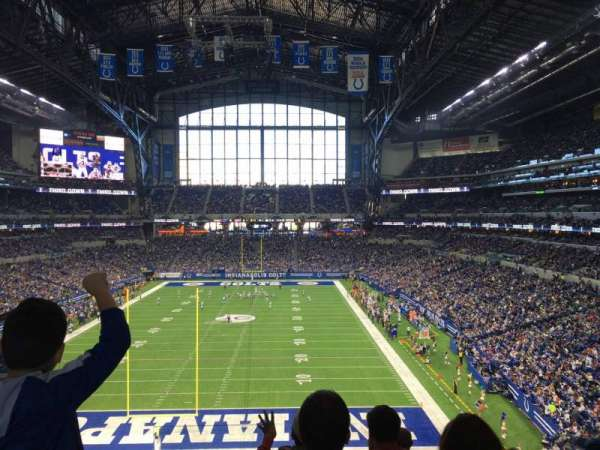 Lucas Oil Stadium, section: 325, row: 5, seat: 20