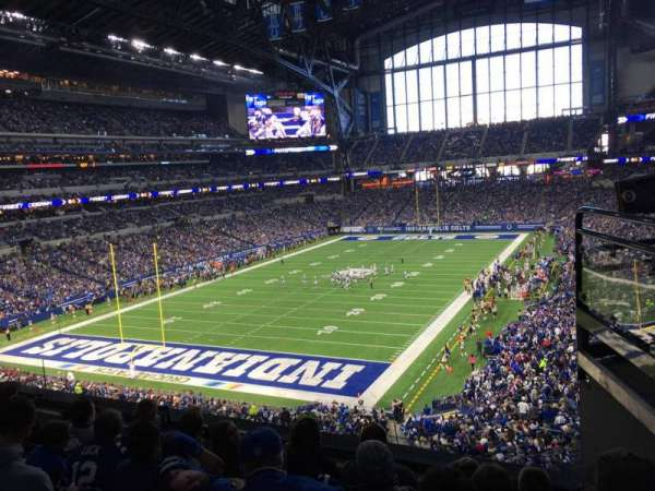 Lucas Oil Stadium, section: 324, row: 4, seat: 2