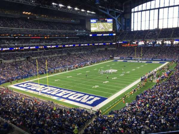 Lucas Oil Stadium, section: 322, row: 5w, seat: 10