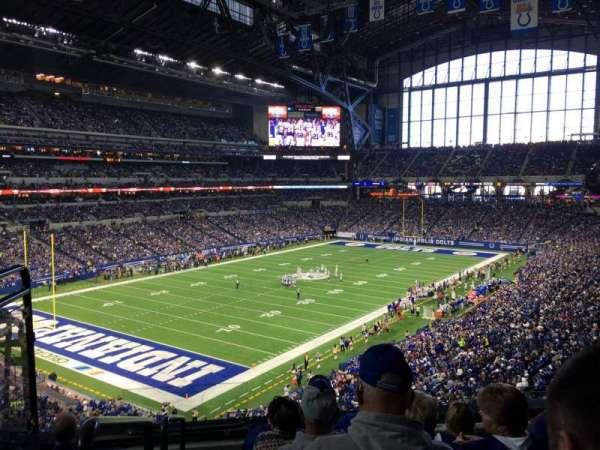 Lucas Oil Stadium, section: 322, row: 5, seat: 22