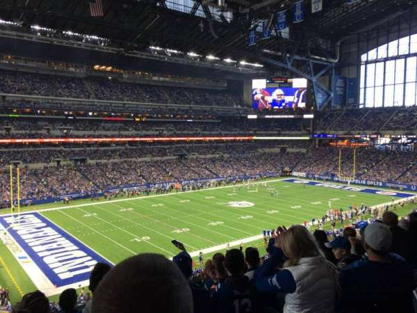 Lucas Oil Stadium, section: 318, row: 5, seat: 22