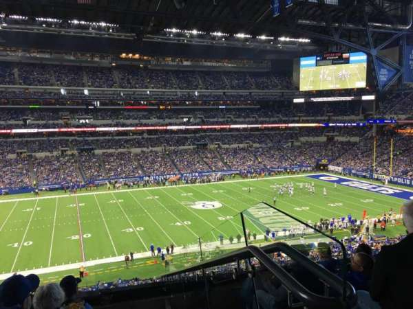Lucas Oil Stadium, section: 316, row: 5, seat: 1