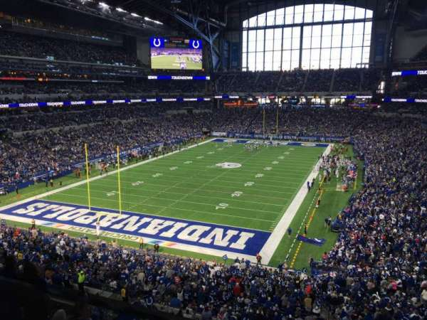 Lucas Oil Stadium, section: 423, row: 4, seat: 2
