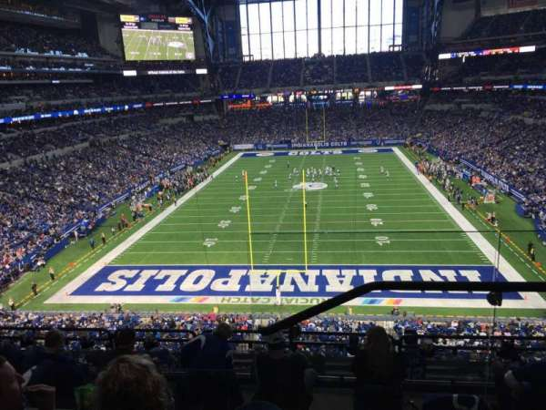 Lucas Oil Stadium, section: 427, row: 3, seat: 1