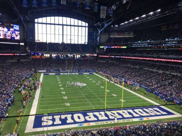 Lucas Oil Stadium, section: 428, row: 2, seat: 1