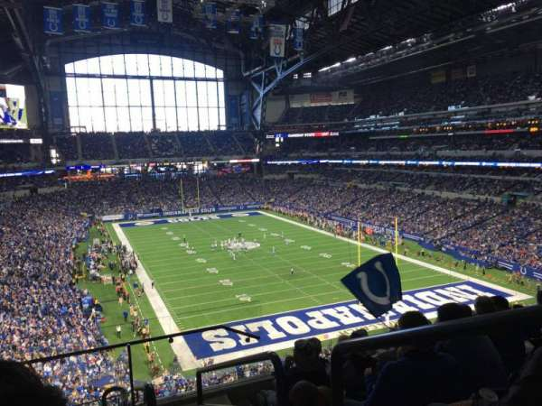 Lucas Oil Stadium, section: 430, row: 7, seat: 1