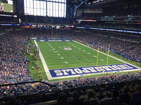 Lucas Oil Stadium, section: 429, row: 5, seat: 24